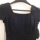 Size 0-2 Black Long Dress