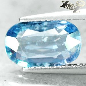 2.81 CT.Unheated Firely Natural Oval 7*11.5 mm. Tanga Shakespeare Blue Sapphire