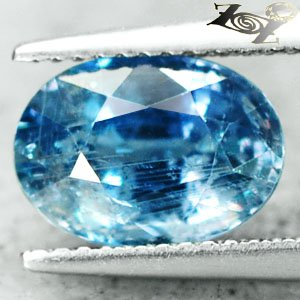 4.32CT.Unheated Untreated Firely Natural Oval 7.5*10 Intense Blue Sapphire ���寶�