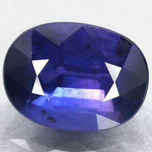 Unheated Eye Clean Natural Oval 5*6.5 mm. Tanga Mine Blue Sapphire 1.05 CT. Gems
