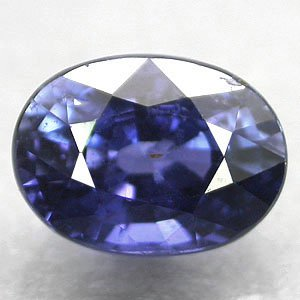 Unheated Untreated Firely Natural Oval 5.5*7 Vivid Blue Tanga Sapphire 1.44 CT.