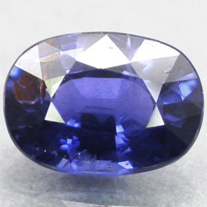 Unheated Untreated Natural Oval 5*7 mm. Exceptional Royal Blue Sapphire 1.27 CT.