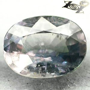 12.4 CT.Firely Unheated Natural Oval 12*16 mm. Silver Greenish Blue Sapphire Gem