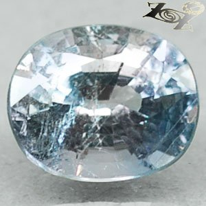 2.23 Ct.Full Fire Unheated Natural Oval 6.5*8 mm. Sky Blue Tanga Mine Sapphire