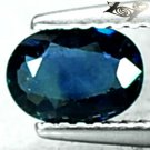 VVS 1 Natural Oval 5*7 mm. Deigo Mine Madagascar Blue Corundum Sapphire 0.81 CT.