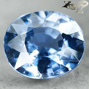 Full Fire Unheated Natural Oval 6.7*7.8 mm Intense Blue Tanga Sapphire 1.83 Ct.