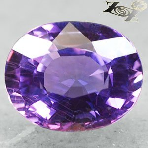 2.32 Ct.VVS Firely Unheated Natural Oval 7*8.5 mm Pink Spark Violet Sapphire Gem