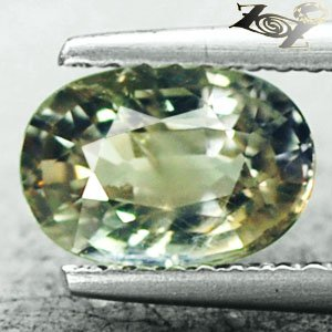 Unheated Firely Natural Oval 6*8 mm. Intense Lemon Yellow Sapphire 1.75 CT.���寶�