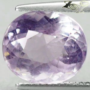 5.56CT.Full Fire VVS1 Natural Oval 10*11.5mm Pink Rose De France Amethyst 紫��紫水�