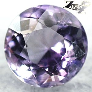 2.57 CT.VVS 1 Natural Round 8.6 mm. Intense Sweet Purple Zambia Amethyst 紫��紫水�
