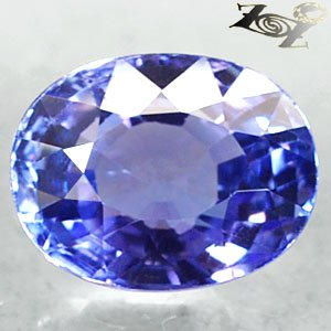 3.66 Ct.Flawless Firely Natural Oval 7.5*10 mm. Intense Blue Purple Tanzanite