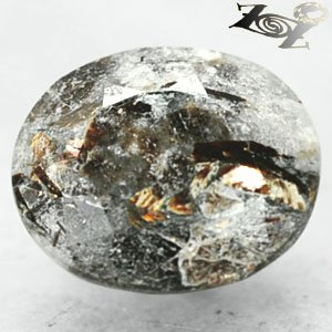 5.81 CT.Natural Oval 10*12.5 mm. Spark Orange Plates Matrix Russia Astrophylite