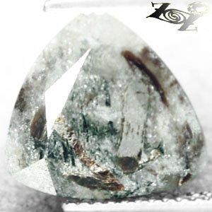 5.53 CT.Natural Trillion 12mm Spark Orange Plates Matrix Grey Black Astrophylite