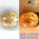7.5 CT.Natural Oval 10*12.5 mm. Color Shifft Lilac Yellow France Ferro Axinite