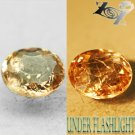 Natural Oval 6.5*8 mm. Color Shift Intense Lilac Yellow Ferro Axinite 1.55 CT.