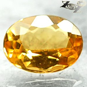 Flawless Firely Natural Oval 6*8 mm. Intense Yellow Madagascar Beryl 1.02 CT.Gem