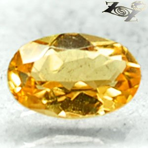 Flawless Firely Natural Oval 6*9 mm. Intense Yellow Madagascar Beryl 1.06 CT.Gem