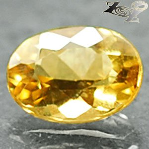 Firely Flawless Natural Oval 6*8 mm.Madagascar Yellow Beryl 1.09 CT. Gems ��綠��