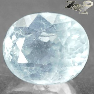 9.04 CT.Firely Natural Oval Facet 10*12 mm. Ocean Blue Celestite @ Zoultier ONLY