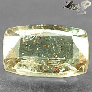 5.65 CT.Natural Cushion 9.5*14.5 mm. Spark Orange Kiwi Green Confetti Sunstone
