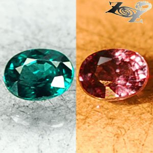 VVS1 Natural Oval 4*5mm Green Blue Nandagala Color Change Garnet 0.5 CT. �����榴�