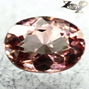 Flawless Firely Natural Oval 4*6 mm. Intense Padparadscha Malaya Garnet 0.72 CT.