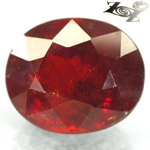 16.74 CT.Natural Oval 12*14 mm. Vivid Red Orange Namibia Spessartite Garnet ��榴�