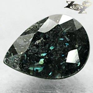 2.15 CT.Natural Pear 7*9 mm. Titanium Blue Green Schiller Streaks Whole Jenakite