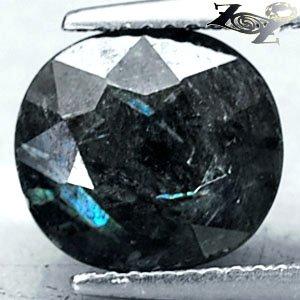 4.45 CT.Natural Oval 9*10 mm. Titanium Blue Schiller Streaks Whole Jenakite Gems
