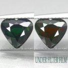 2.05 CT.VVS 1 Natural Heart 7.5*8 mm Tanzania Vivid Green Chrome Tourmaline 鉻電氣石