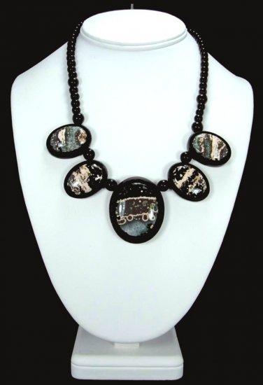 Ocean Jasper Intarsia Necklace