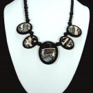 Ocean Jasper Intarsia Necklace