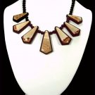 Queen Picture Jasper Intarsia Necklace