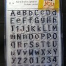 Autumn Leaves Clear Stamps-Alphabet 65PC
