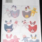 Butterick 3522 Craft Pattern Baby  Bibs