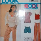 NEW LOOK (Simplicity) 6339 Blouse, Shorts, Pants
