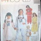 MCCALLS  8941 Children's & Girls Nightgown & Pajamas