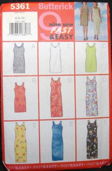 BUTTERICK  5361 MISSES/MISSES' PETITE DRESS