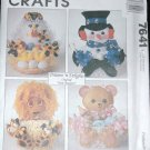 MCCALLS 7641 CRAFT PATTERN TREAT BASKETS