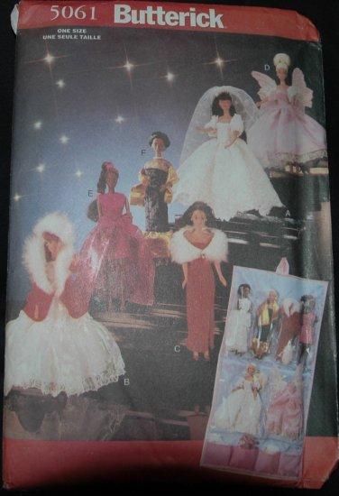 "Butterick 5061 11 1/2"" Doll Costume Patterns"