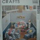 "McCalls 8825 11 1/2""  Doll Furniture Pattern"