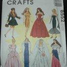 "McCalls 8552 11 1/2""  Doll Dress Pattern"
