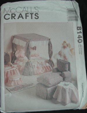"McCalls 8140 11 1/2""  Doll Furniture Pattern"