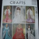 "McCalls 3138 11 1/2""  Doll Costume Pattern"