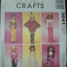 "McCalls 3041 11 1/2""  Doll Dress Pattern"