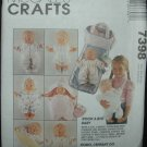 Simplicity 7398 Rock a  Bye Baby Accesories (doll)