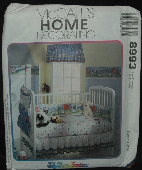 MCCALLS 8993 HOME DECORATING  PATTERN