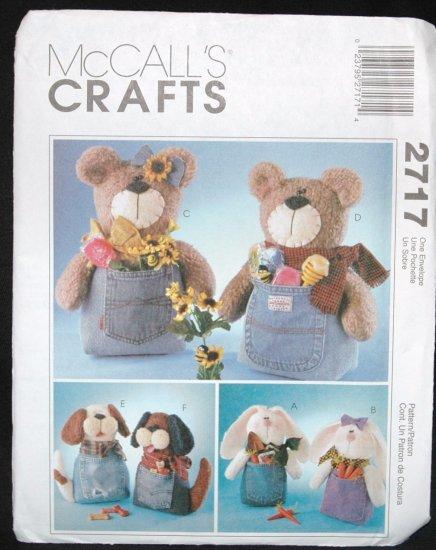 McCalls 2717  Craft  Jeanie Babies Pattern
