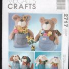 McCalls 2717  Craft  Jeanie Babies Pattern