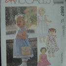 MCCALLS 8667 Toddlers' Dress and Pantaloons 2,3,4